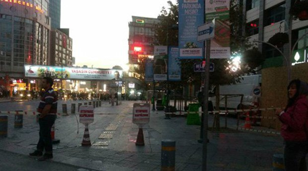 Ankara'nın Göbeğinde Bomba Paniği Belediye Tamamen Boşaltıldı !