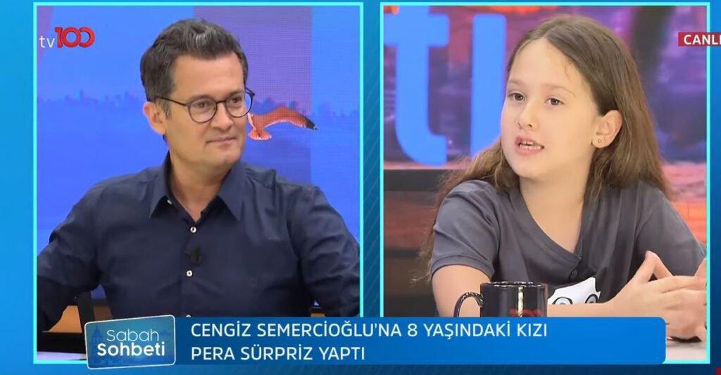 Cengiz Semercioğlu ve Kızı Pera Semercioğlu