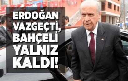 Erdoğan  McKinsey Şirketin'den vazgeçti, Bahçeli Yalnız Kaldı…!