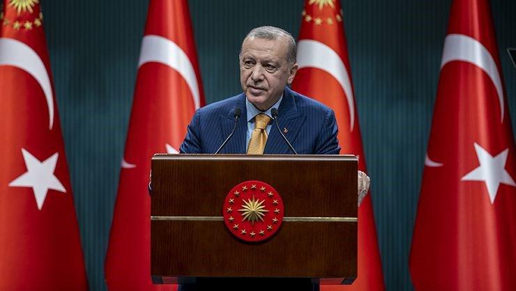 Cumhurbaşkanı Erdoğan; Hafta sonu Kısıtlaması Düşük ve Orta Riskli İllerde Kalktı