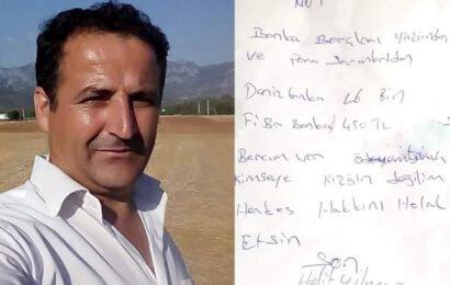 İki Çocuk Babası Halit Yılmaz Borçları Yüzünden İntihar Etti!