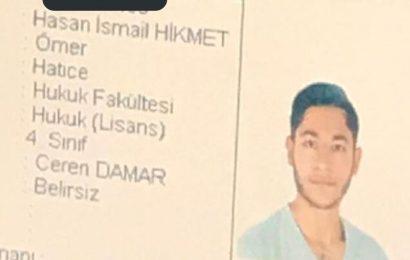 Araştırma Görevlisini Öldüren Hasan İsmail Hikmet'in Fotoğrafı Ortaya Çıktı