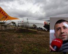 Uçak Kazasını Anlattı!