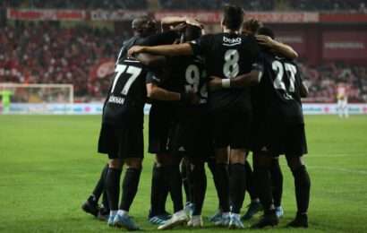 Kara Kartal Kazanmasını Bildi! Antalyaspor: 1 – Beşiktaş: 2