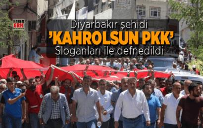 Diyarbakır Şehidi 'kahrolsun PKK' Sloganları İle Defnedildi…!