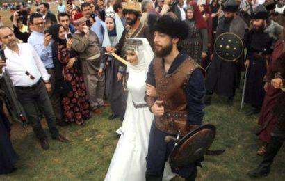 Recep Akdağ'ın Oğlu, Kayı Boyu Düğünüyle Evlendi