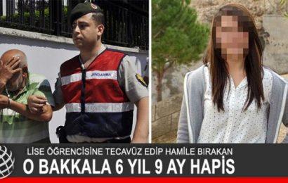 Liseli Kızı Hamile Bırakan Bakkal 6 Yıl Hapis Cezası Aldı !
