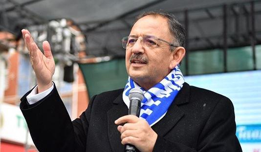 Ak Parti Ankara Büyükşehir Belediye Başkan Adayı Mehmet Özhaseki