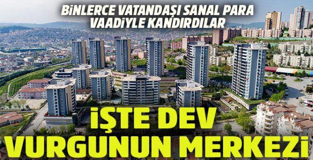 1 Milyar TL'lik Yapılan Vurgun… Turcoin'in Kocaeli'de Üretildiği Belirlendi…!